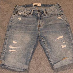 Boys distressed Denim Shorts NWOT size 13/14